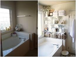 diy bathroom linen shelves ella claire