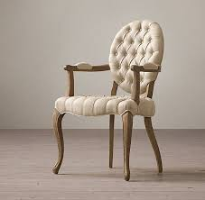 Zebra Dining Room Chairs by Tufted Round Arm Fabric Covered Leather Dining Chair Elegant