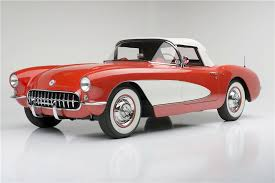 corvette stingray 1955 1956 chevrolet corvette convertible serial one 185731