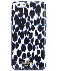 Blue Leopard Print by Kate Spade New York Leopard Print Iphone 6 6s Case Lapis Blue