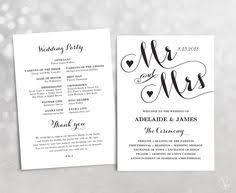 Diy Wedding Program Fans Template Printable Wedding Program Template Wedding Fan By Vinewedding