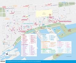 Tourist Map Of Boston by