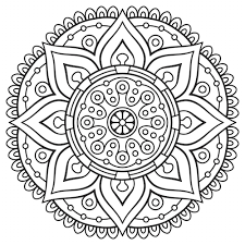 coloring pages fancy mandala coloring star pages mandala
