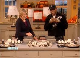 halloween skeleton treats ll cool j martha stewart youtube
