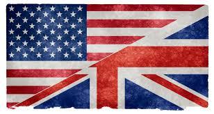 States Flags English Language Grunge Flag