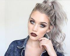 grey hairstyles for younger women well since i m getting old maybe it s worth to think a bit
