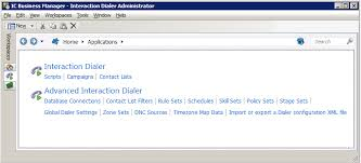 interaction dialer manager help dialer administrator