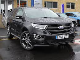 ford edge crossover used ford edge sport black cars for sale motors co uk