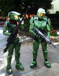 Master Chief Halloween Costumes Halo Couple Floesefar Halo Cosplay Master