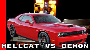 hellcat engine block dodge challenger hellcat vs demon youtube