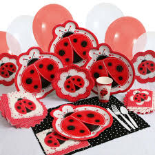 ladybug baby shower another pink and red ladybug baby shower