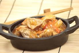 hervé cuisine chinois sauté de porc à l ananas de hervé cuisine cuisine recette viande