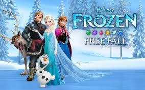 amazon frozen free fall appstore android