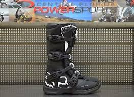 motocross bike boots fox racing youth black white comp 3 dirt bike boots motocross mx