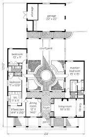 courtyard plans courtyard garden hse david sulivan southern living house plans