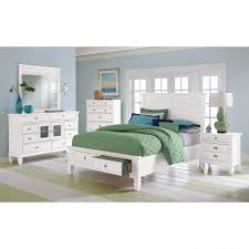 Bookcase Storage Bed Furniture Home Charleston Bay White Ii Bedroom Queen Storage Bed
