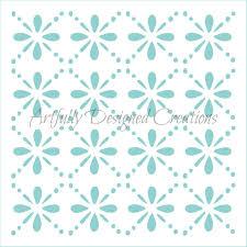 floral trellis stencil artfully designed creations