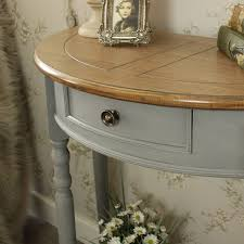 half moon console table with drawer half moon console table with drawer and shelf admiral range
