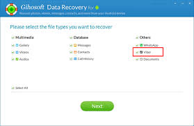 tutorial viber android android phone data recovery viber messages recovery how to recover