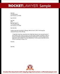 resignation letter sample employee resignation form rocket lawyer