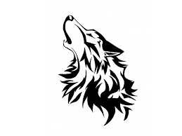 wolf is howling drawing wallpaper picture chainimage wolf pack