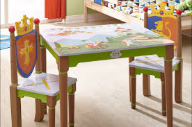 Kids Farmhouse Table Chair Kids Folding Table And Chairs Set Gripping Dining Table