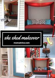 how to makeover a shed into a bonus room tour our shed momadvice