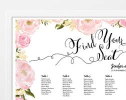 Free Wedding Seating Chart Template Excel Wedding Table Plan Table Seating Chart Sign Poster Board