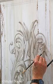 moldings and ornaments painted in trompe l u0027oeil workshop