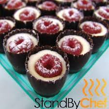 dessert canapes canapes catering bites