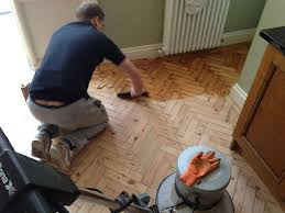 filling wood floor gaps parquet block floor sanding in london