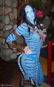 Halloween Avatar Costume Avatar Movie Character Neytiri Homemade Halloween Costume