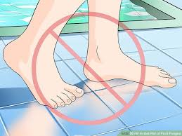 3 ways to get rid of foot fungus wikihow