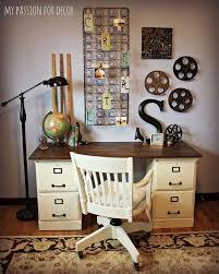 Design Home Office Using Kitchen Cabinets 17 Best Diy Desk With File Cabinets Images On Pinterest Diy Desk