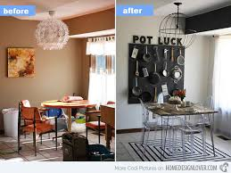 dining room makeover pictures 15 before and after pictures of dining room makeovers home design