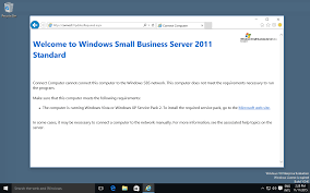 how to join a windows 10 client with the connector to a sbs 2011
