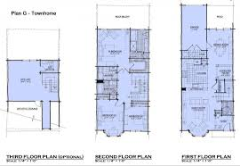 3 story homes 3 story house plans for small lots