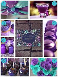 purple baby shower decorations baby shower decorations for purple style by modernstork