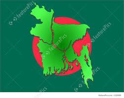 Map Of Bangladesh Map Of Bangladesh Stock Picture I1322989 At Featurepics