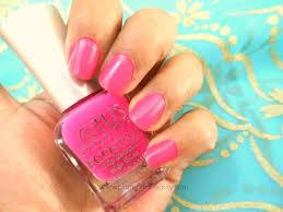 lotus herbals ecostay nail enamel e14 fiery pink paperblog