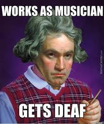 Beethoven Meme - bad luck beethoven by blazedosan001 meme center