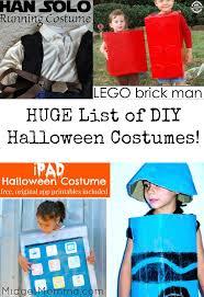 huge list of diy kids halloween costumes