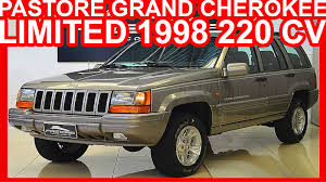 jeep grand limited 1998 4k pastore jeep grand limited 1998 prata aro 16 at4 4x4
