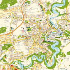map of freiburg map fribourg switzerland maps and directions at map