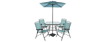 Target Patio Coupon by 7pc Sling Folding Patio Dining Set Turquoise Room Essentials