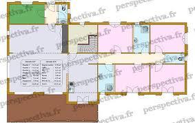 plan maison 4 chambres gratuit plan maison 100m2 4 chambres maison box plan habill etage