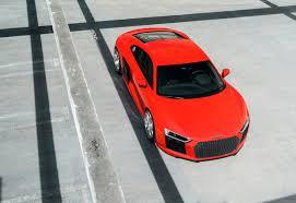 Audi R8 Red - red audi r8 adv05c track spec cs series wheels adv 1 wheels