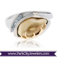 ivory ring elk ivory jewelry tagged elk ivory engagement ring park city