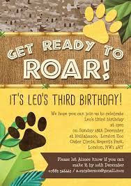 lion king of the jungle party invitation from 0 80 each
