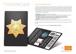 id card graphic design metal id badges pure metal cards